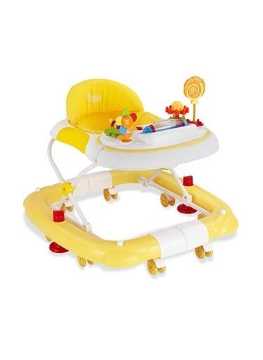 BabyHope 212 Royal Salla Bebek Yürüteç Sarı